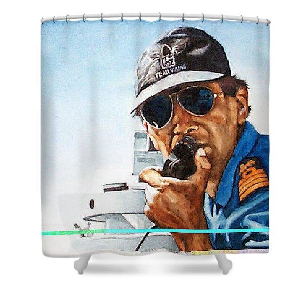 Joe Johnson Shower Curtain