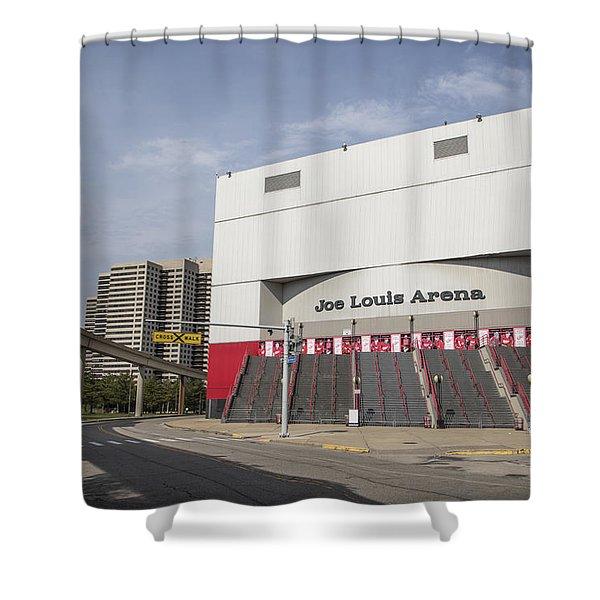 Joe Louis Arena  Shower Curtain