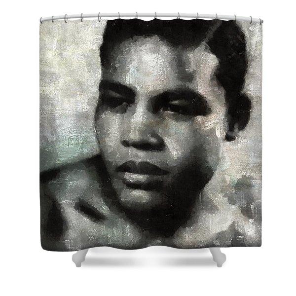 Joe Louis Shower Curtain