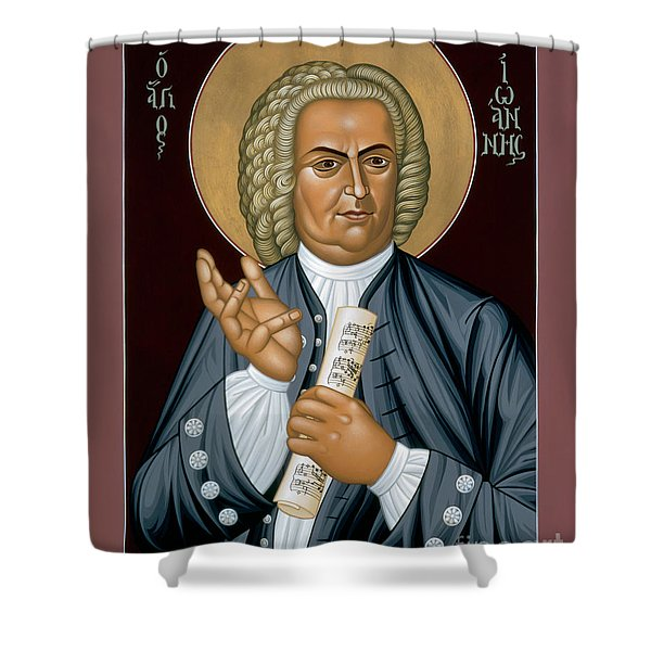 Johann Sebastian Bach - Rljsb Shower Curtain