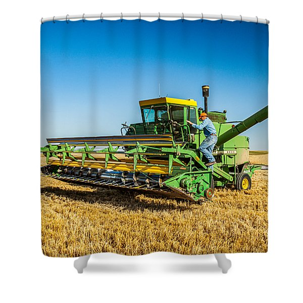 John Deere 6600 Shower Curtain
