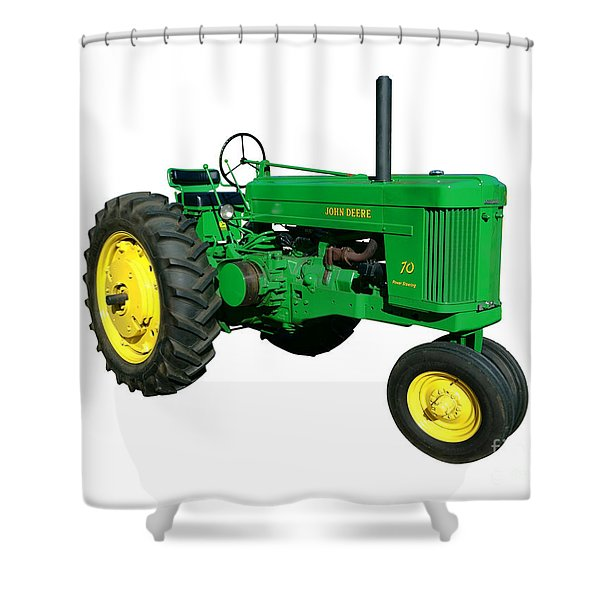 John Deere 70 Shower Curtain
