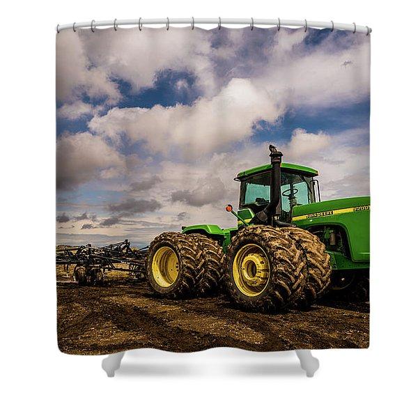 John Deere 9200 Shower Curtain