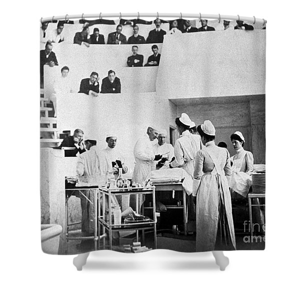 John Hopkins Operating Theater, 19031904 Shower Curtain