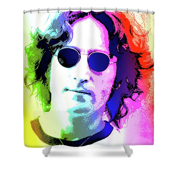 John Lennon - Nyc Shower Curtain