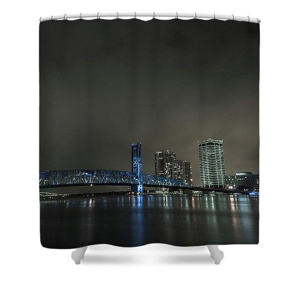 John T. Alsop Bridge 2 Shower Curtain