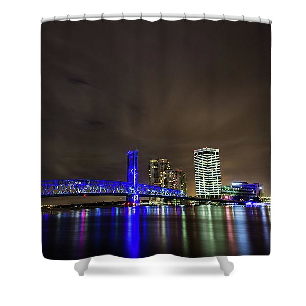 John T. Alsop Bridge Shower Curtain