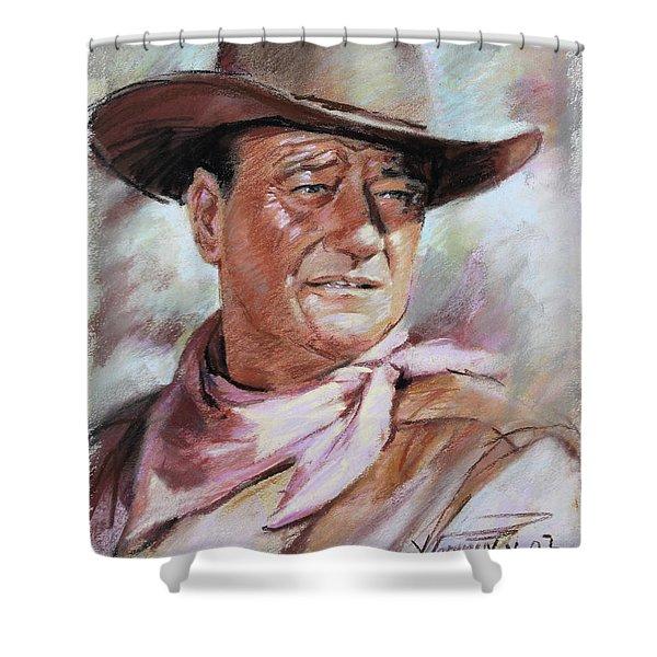 John Wayn Shower Curtain