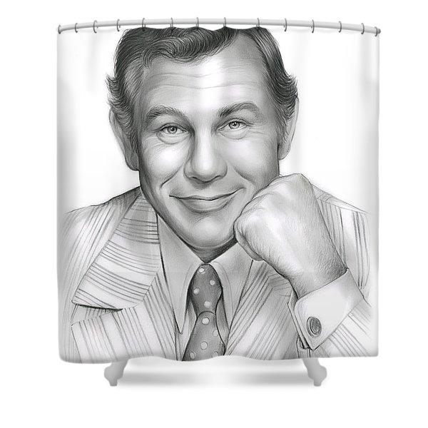 Johnny Carson Shower Curtain