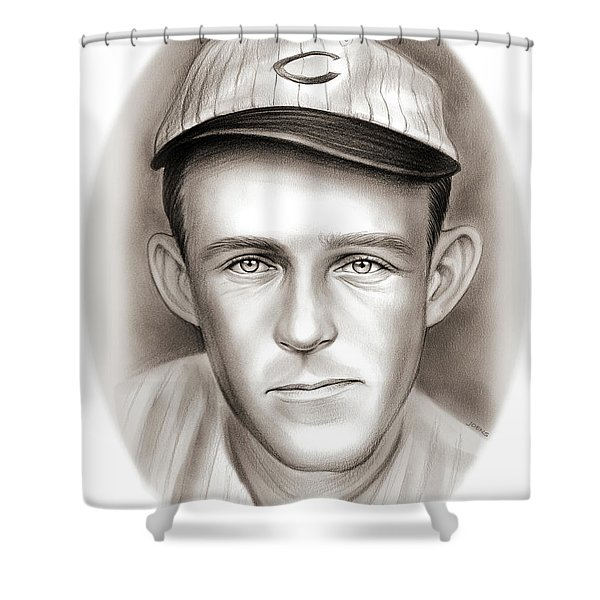 Johnny Evers Shower Curtain