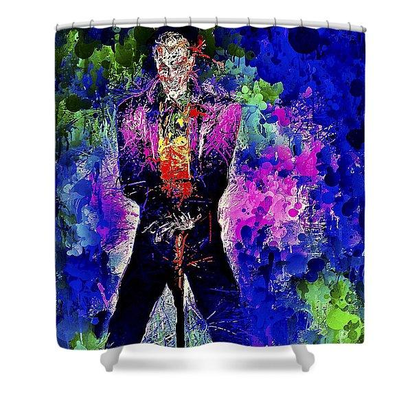 Joker Night Shower Curtain