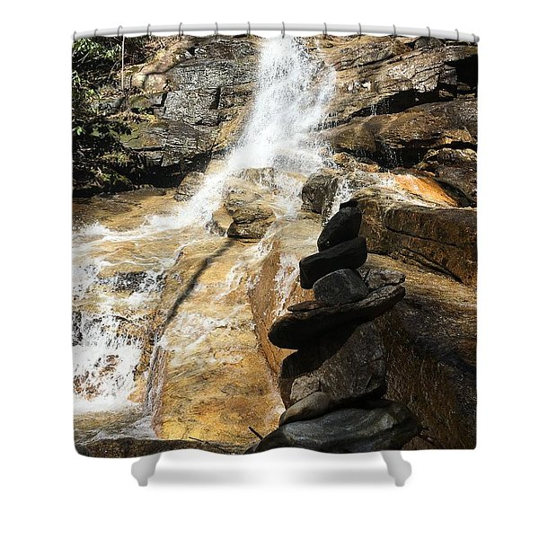 Jones Gap Falls  Shower Curtain