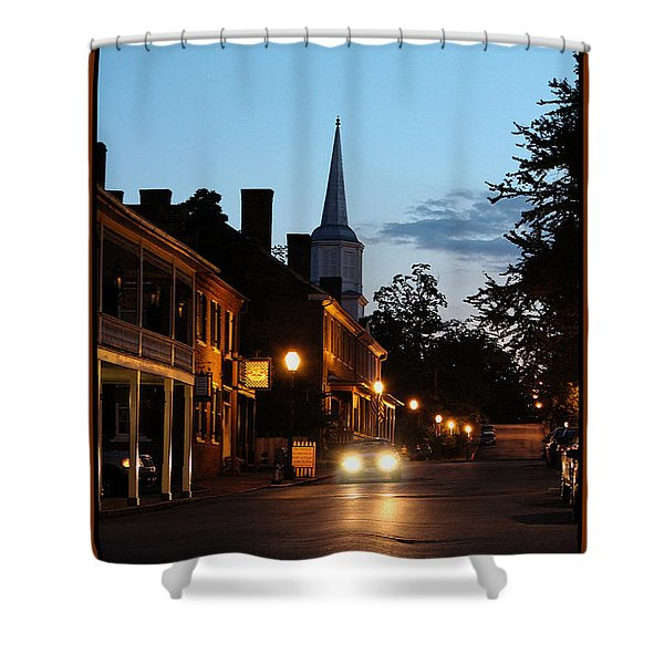 Jonesborough Tennessee 10 Shower Curtain