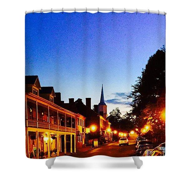 Jonesborough Tennessee 4 Shower Curtain