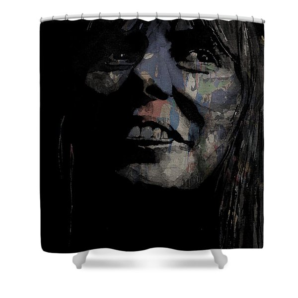 Joni Mitchell - A Case Of You Shower Curtain