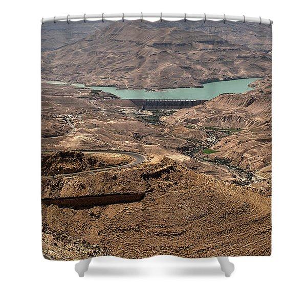 Shower Curtain featuring the photograph Jordan River by Mae Wertz