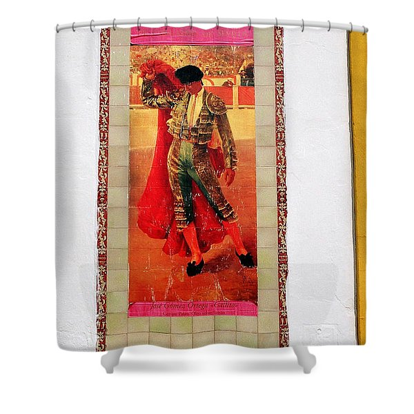 Jose Gomez Ortega Shower Curtain
