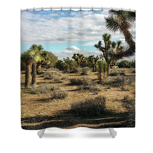 Joshua Tree's Shower Curtain