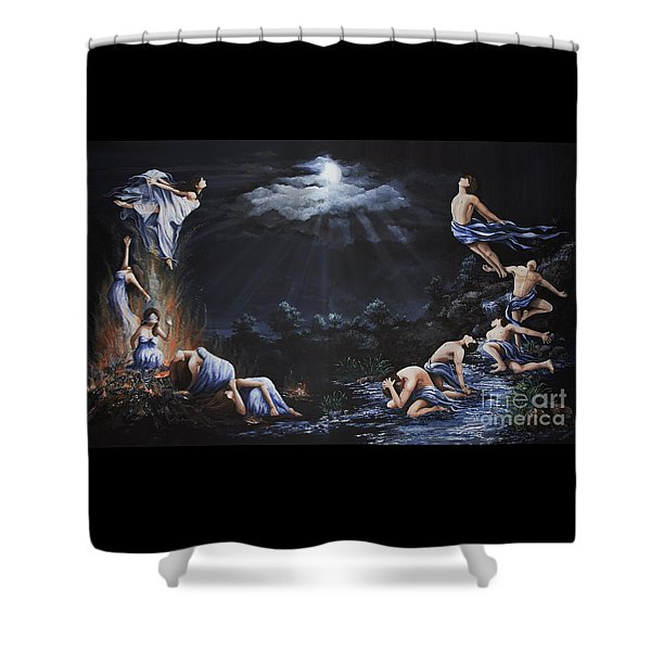 Journey Into Self Shower Curtain