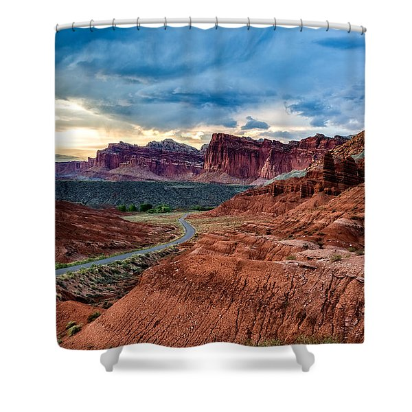 Journey Through Capitol Reef Shower Curtain