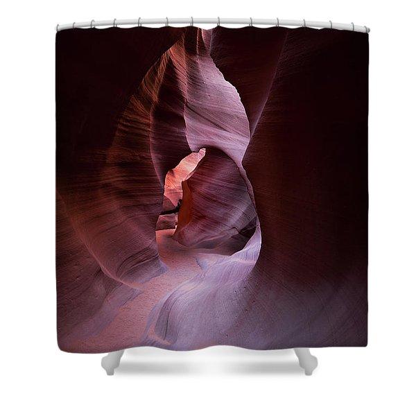 Journey Thru The Shadows Shower Curtain