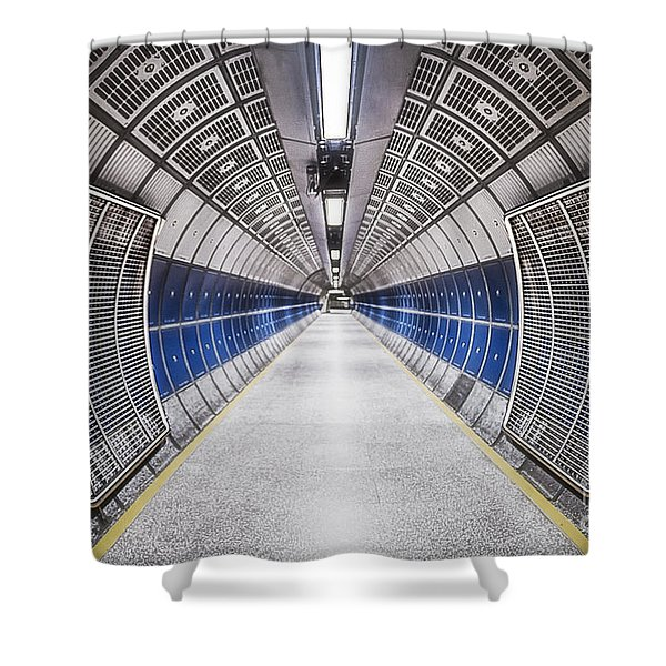 Journey To The Center Of Your Mind Shower Curtain