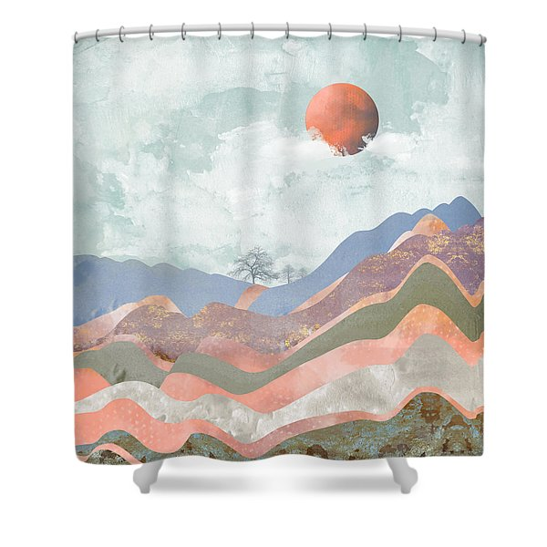 Journey To The Clouds Shower Curtain