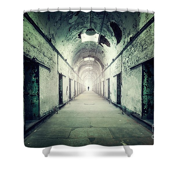 Journey To The Light Shower Curtain