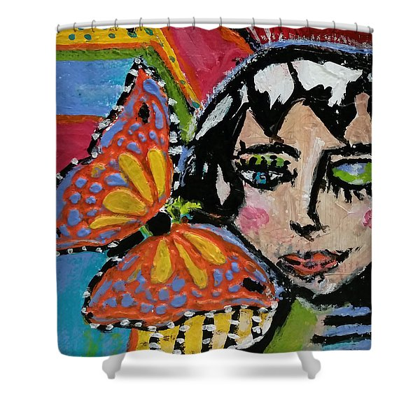 Joy - Vivid Vixen 10 Shower Curtain