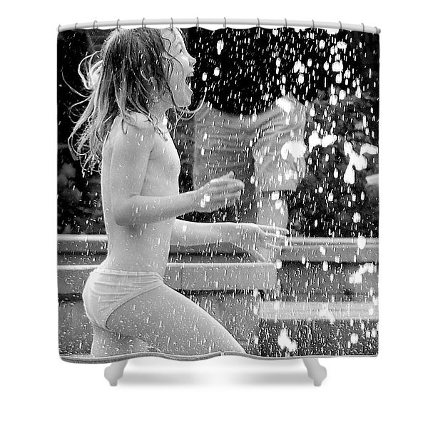 Screaming For Joy Shower Curtain
