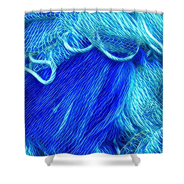 Joy With Colours  Shower Curtain
