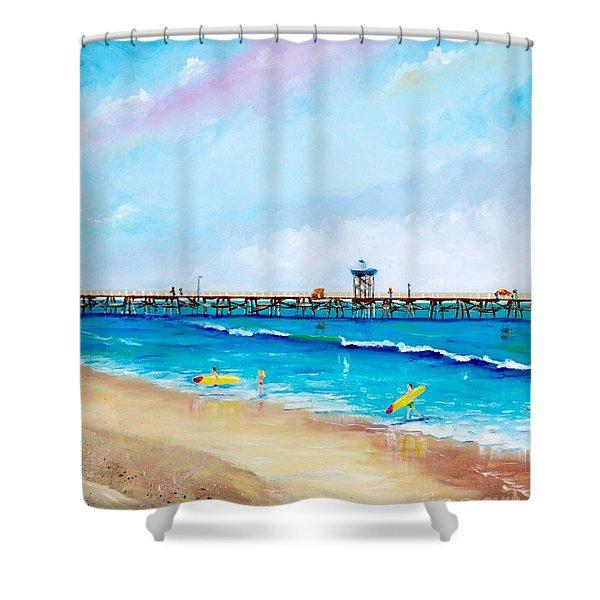 Jr. Lifeguards Shower Curtain