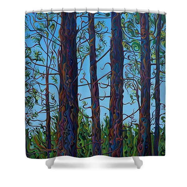 Jubilant Communitree Shower Curtain