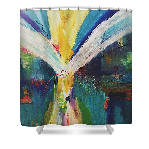 Jubilant Shower Curtain