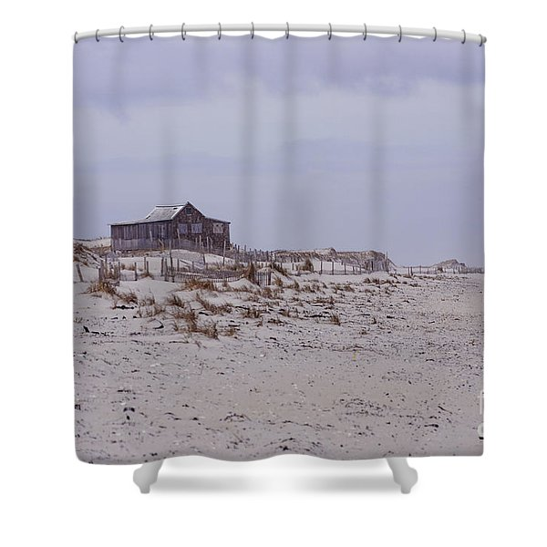 Judge's Shack Shower Curtain