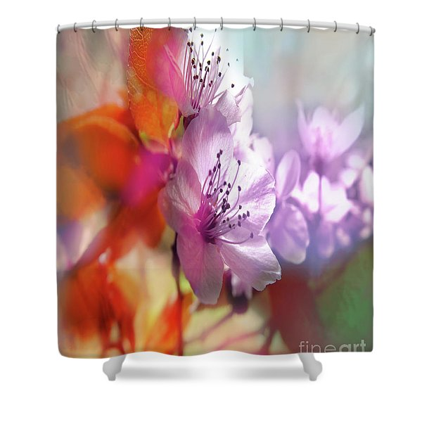 Juego Floral Shower Curtain