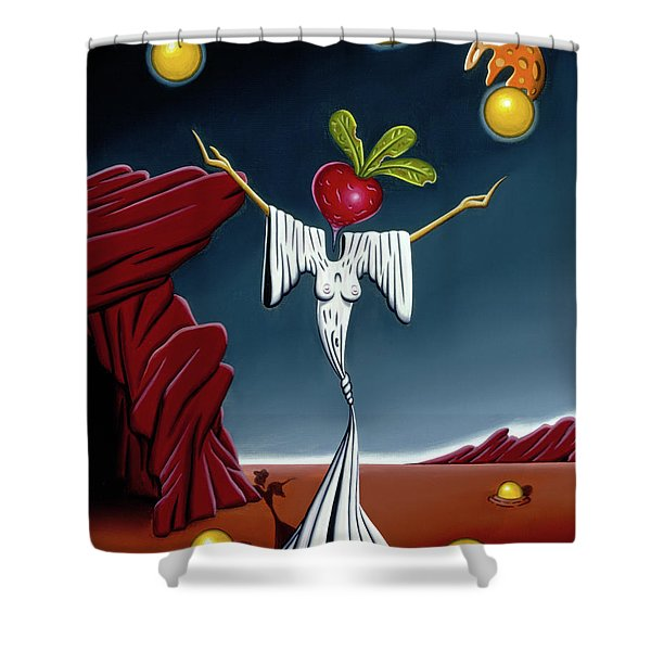 Juggling Act Shower Curtain