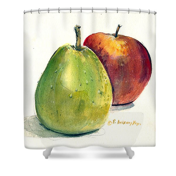 Juicy Fruit Shower Curtain
