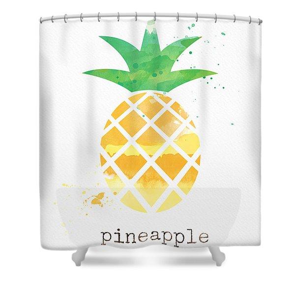 Juicy Pineapple Shower Curtain