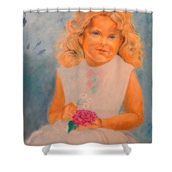 July - 50x69 Cm Shower Curtain