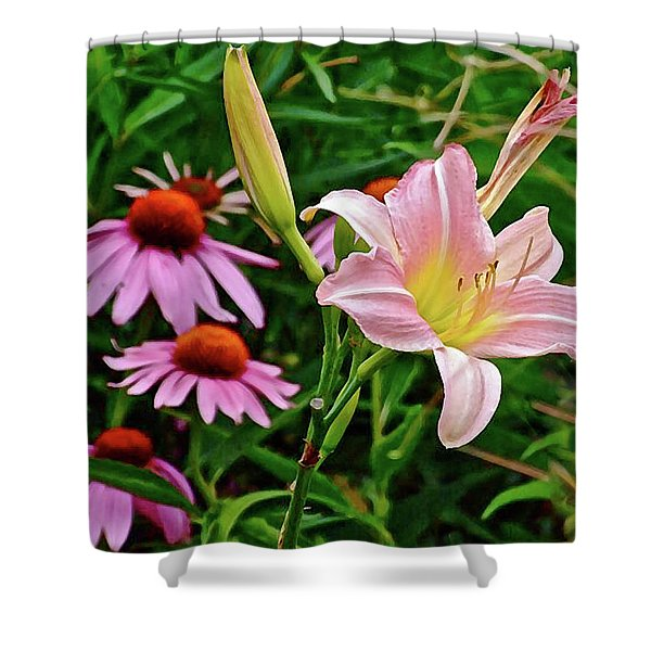 July Lily #10 Shower Curtain