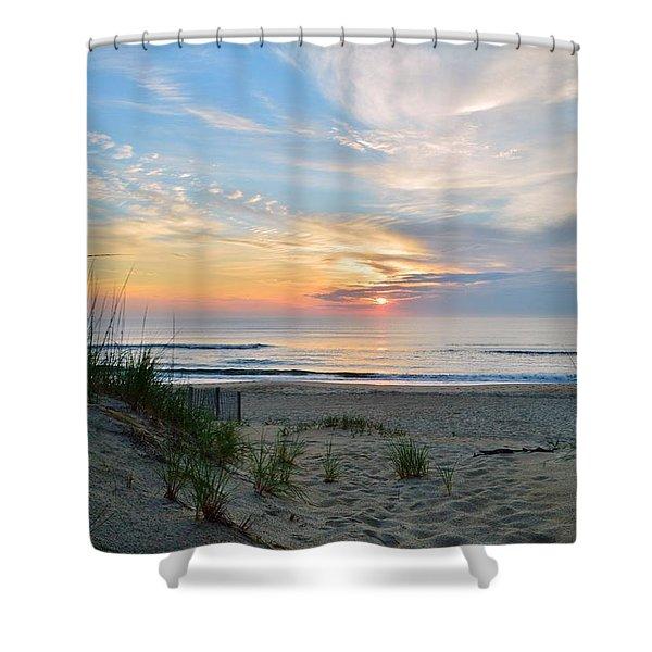 June 2, 2017 Sunrise Shower Curtain