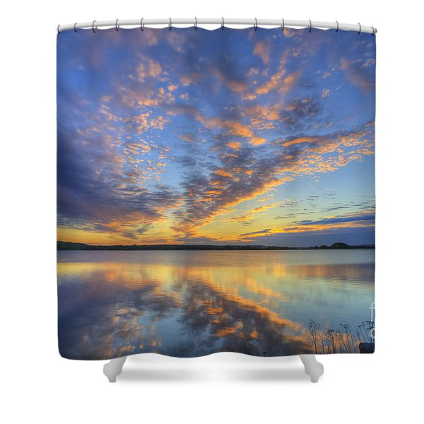 June Morning Shower Curtain