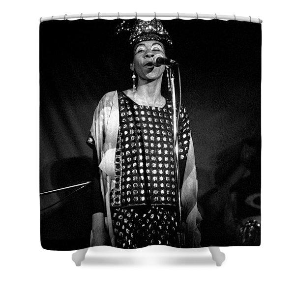 June Tyson Shower Curtain