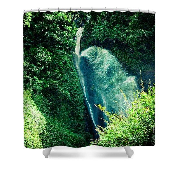 Shower Curtain featuring the photograph Jungle Annapurna Yatra Himalayas Mountain Nepal by Raimond Klavins