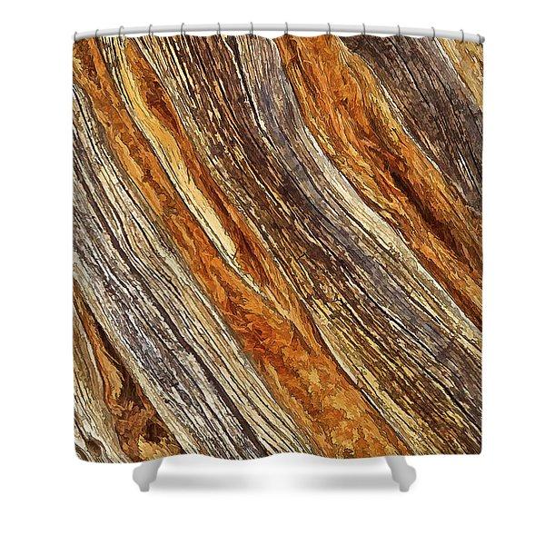 Juniper Texture Shower Curtain