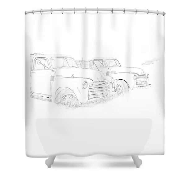 Junkyard Finds Shower Curtain