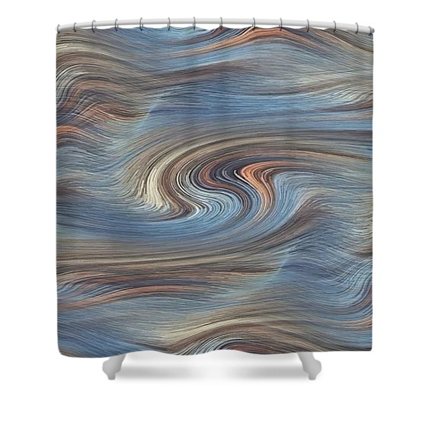 Jupiter Wind Shower Curtain