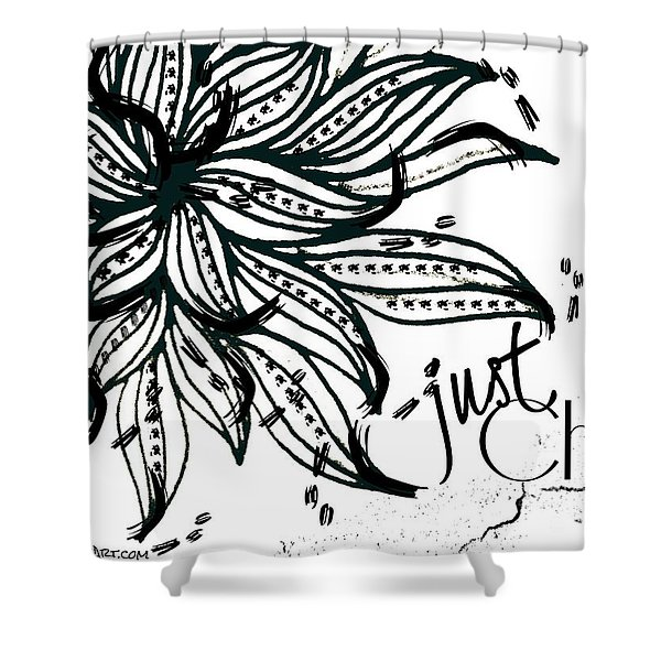 Just Chill Shower Curtain