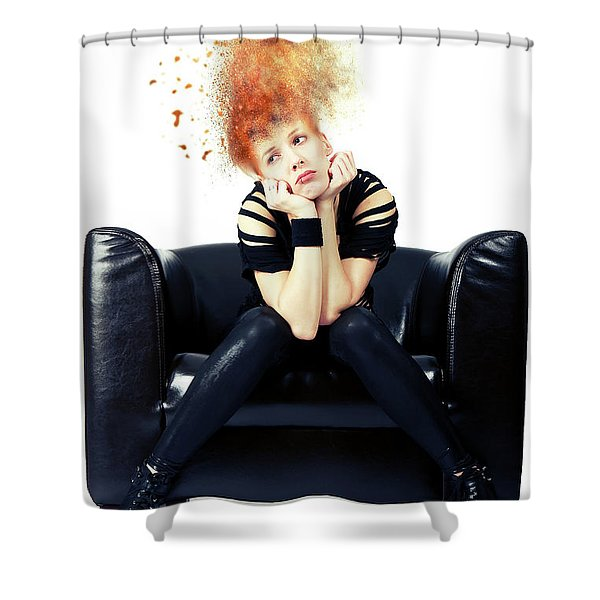 Just Chillin Shower Curtain